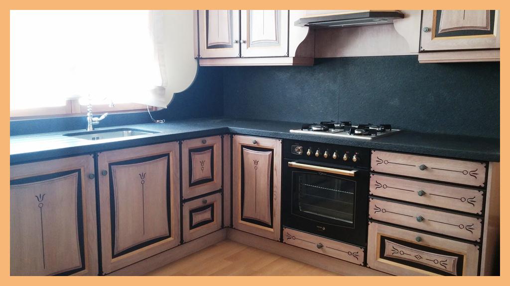 Fustahermetic cocina rustica for Frentes de muebles de cocina